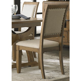Town and Country Transitional Upholstered Side Chair