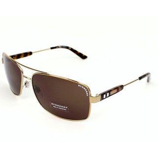 Burberry BE3074 Men's Metal Sunglasses