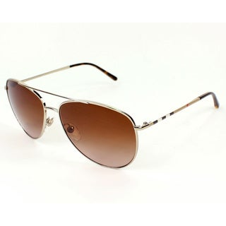 Burberry BE3072 Women's Metal Aviator Fashion Sunglasses