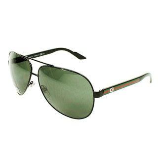 Gucci Men's GG 1951/S Metal Aviator Fashion Sunglasses