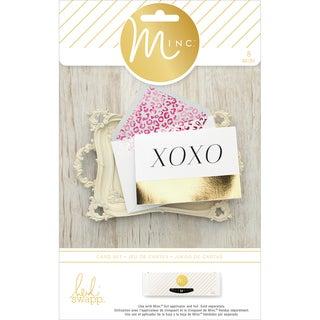 Minc Card & Envelopes 8/Pkg-XOXO