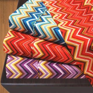 Simple Elegance Luxor Treasures 1800 Wrinkle Resistant Zig-Zag Sheet Set