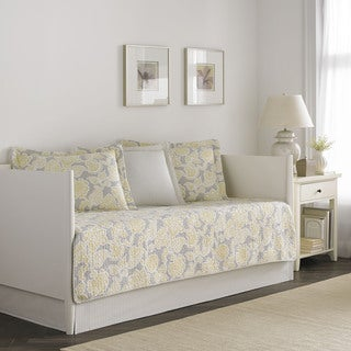 Laura Ashley Joy 5-piece Quilted Daybed Cover Set