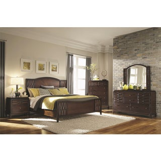 Biscayne Bay Rich Brown 4-piece Bedroom Set