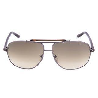 Tom Ford TF243 08P Adrian Aviator Silver Unisex Sunglasses