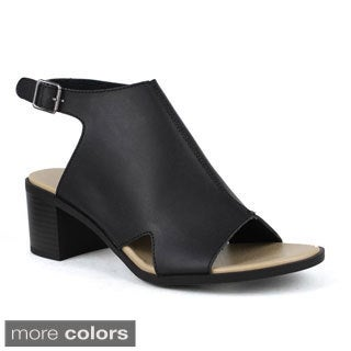 Mark and Maddux Women's Cecilia-04 Slingback Mule Sandals