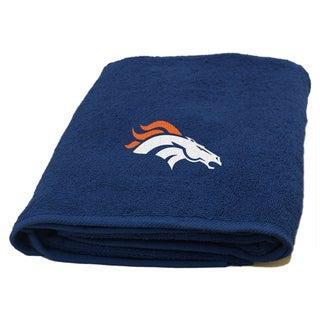 NFL Broncos Applique Bath Towel