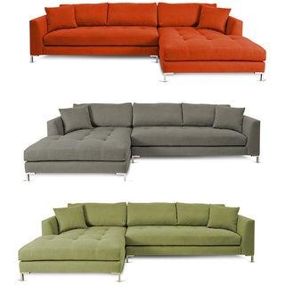 Decenni Custom Furnture Divina II Sectional Sofa