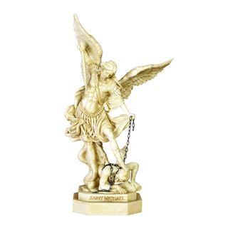 Polystone Saint Michael Sculpture