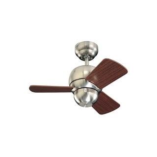 Micro 24 Brushed Steel 24-inch Ceiling Fan