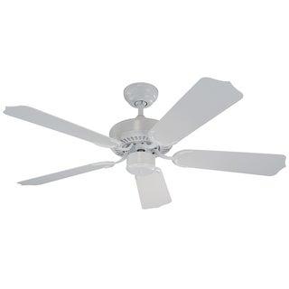 Monte Carlo Weatherford II Outdoor White 42-inch Ceiling Fan