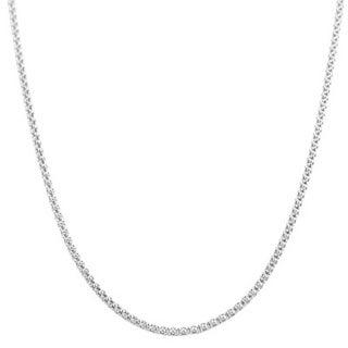 Italian Sterling Silver Coreana Chain Necklace
