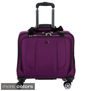 Delsey Helium Cruise Carry On Spinner Trolley Tote