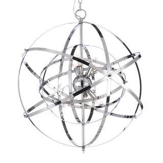Foucault's Orb Chrome Chandelier Light Fixture