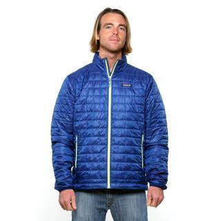 Patagonia Men's Nano Puff Channel Blue Jacket