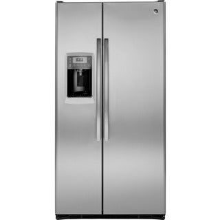 GE Profile PZS25KSESS 24.6 Cubic Foot Counter Depth Side-bySide Refrigerator