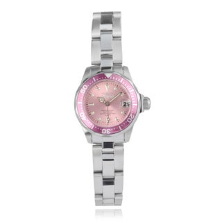 Invicta Women's 'Pro Diver' 11437 Stainless Steel Link Watch