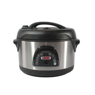 Technique 6.5-quart Voice-guided Oval Pressure Cooker with Recipe Book
