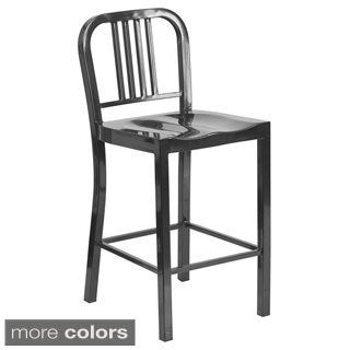 """Offex 24"""" Metal Counter Height Stool"""