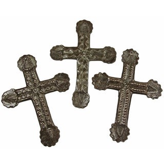 Small Skinny Metal Wall Art Cross