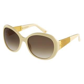 Gucci Women's 3693/S Plastic Oval Sunglasses