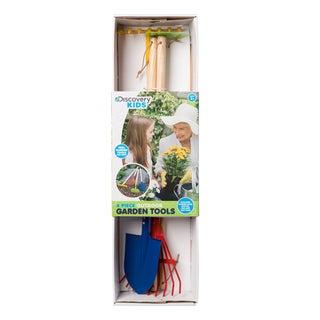 Discovery Kids 4-piece Outdoor Garden Tool Set
