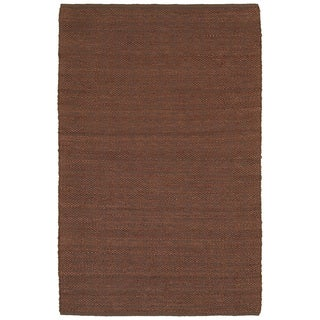 Elite Natural Fiber Copper Braided Area Rug (9' x 12')