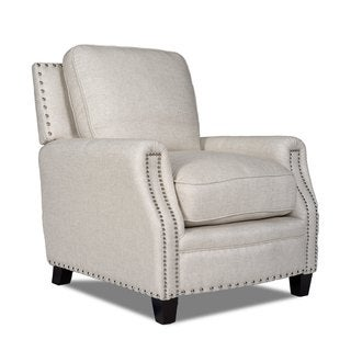 Bradford II Brussels Linen Nailhead-trim Chair