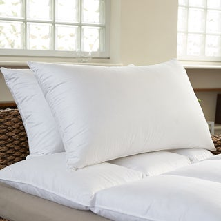 Luxury 400 Thread Count Feather and Down Pillows (Set of 2)