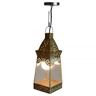 Decorative Crane Gold Elegant Transitional Hanging Pendant Lamp