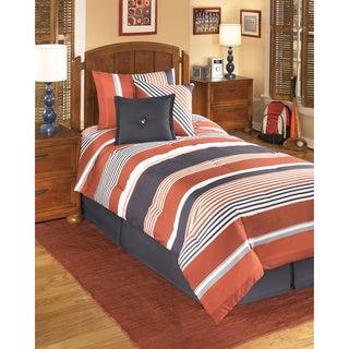 Signature Design by Ashley Manning Multicolor Stripes 6-piece Comforter Set
