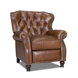 Coventry Saddle Cambridge Leather Recliner