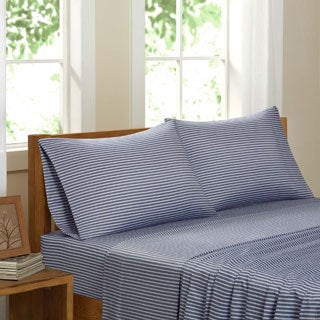 Eco Weave Club Stripe Sheet Set