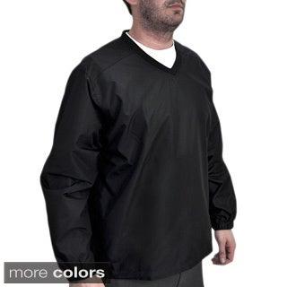 Orlimar Golf Men's Cyclone Wind V-Neck Long Sleeve Shirt
