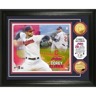 Corey Kluber Gold Coin Photo Mint