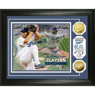 Clayton Kershaw Gold Coin Photo Mint