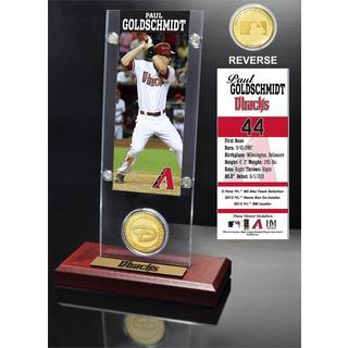 Paul Goldschmidt Ticket and Bronze Coin Acrylic Desk Top