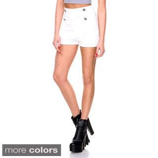 Stanzino Women's High Waist Casual Shorts