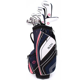 Cleveland Womens Bloom Max Full Set 10 clubs with a bag