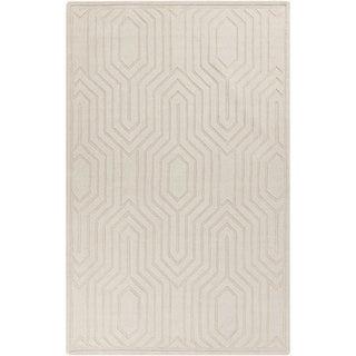 Hand-Loomed Jocelyn Solid Wool Rug (8' x 11')