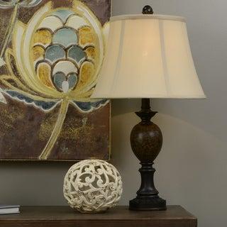25-inch Huntington Bronze Table Lamp