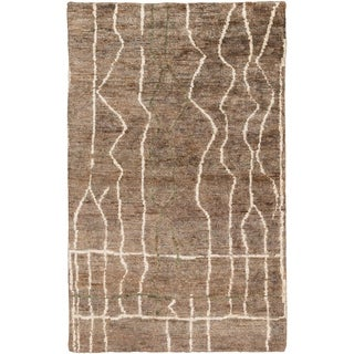 Hand-Knotted Ross Abstract Rug (8' x 11')
