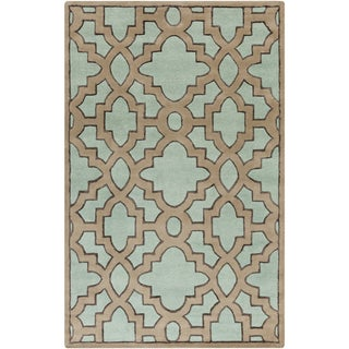 Candice Olson Hand-Tufted Schmit Morrocan Trellis Rug (9' x 13')