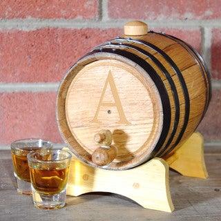 Personalized Oak Bluegrass Barrel