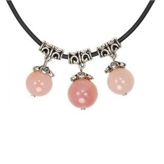 Handmade Tibetan Silver Chalcedony Beads Necklace (China)