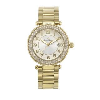 Julia by Giorgio Milano Women's Luxury Watch Chronograph with Bright Swarovski Crystals