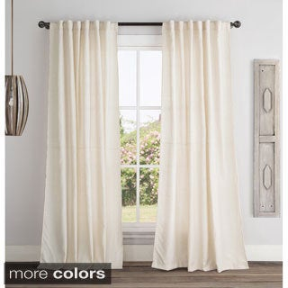 Victoria Classics Broome 84-inch Backtab Curtain Panel