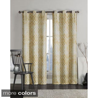 Andreas Grommet Top 84-inch Curtain Panel Pair