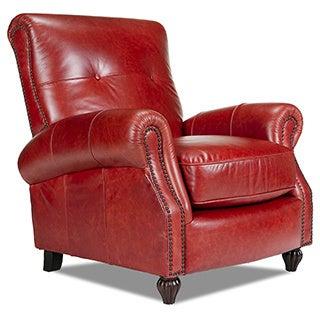 Benjamin Bolero Cherry Leather Press Back Chair