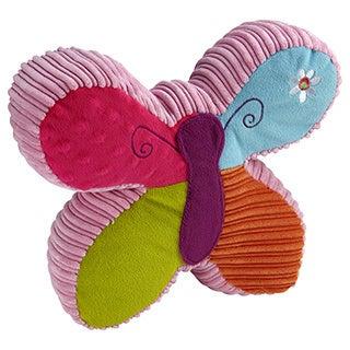 Garanimals Wild Flowers Butterfly Shaped Appliqued Pillow